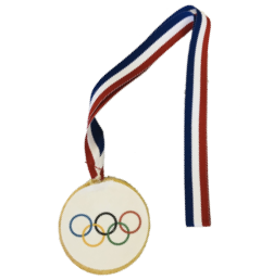 Olympic Medal Sugar Cookie