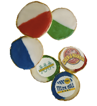 Black & White/Camp Color Cookie 6 Pack