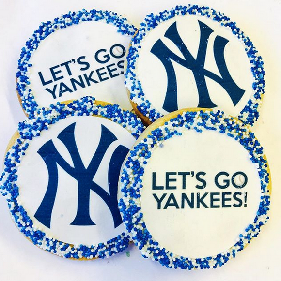 Sports Team Sugar Cookies With Nonpareils