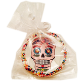 Sugar Skull Cookies with Nonpareils
