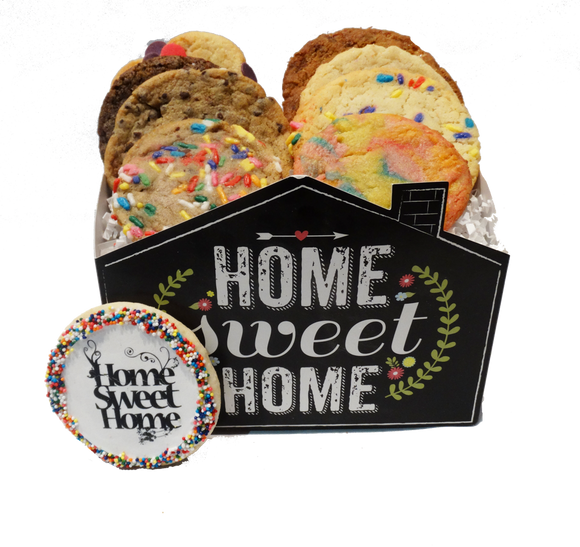 Home Sweet Home Cookie Basket