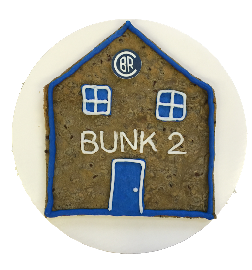 Camp Bunk Cookie Cake