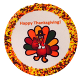 """Happy Thanksgiving"" Cookies"