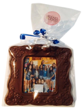 Custom Chocolate Picture Frame with Image