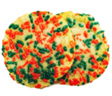 Christmas Sugar Cookies With Sprinkles