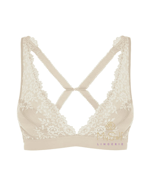 Wacoal 852191 Embrace Lace Wire Free Bralette MYSELFLINGERIE.COM