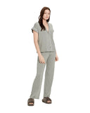 UGG Aimee Short Sleeves Button Down Pajama Set