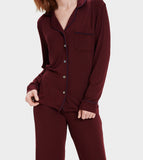 UGG Wild Grape Lenon Button PJ's Set