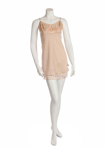 Rya Collection 280 From The Heart Embroidered Chemise MYSELFLINGERIE.COM