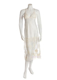 Rya Collection 294 Queen Ivory Lace Long Gown MYSELFLINGERIE.COM