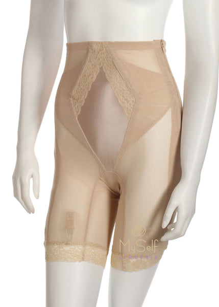 Custom Maid 299 Hi Waist Zipper Girdle myselflingerie.com