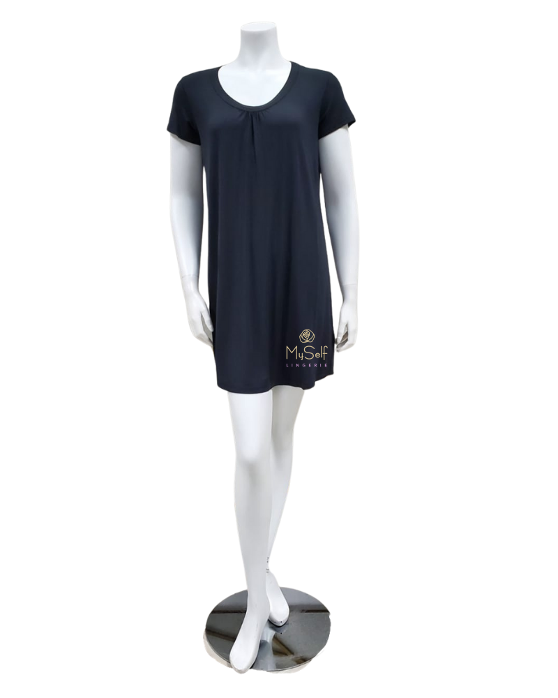 UGG 1118130 Acadia Black Sleep Dress myselflingerie.com