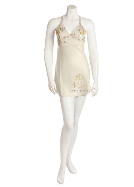 Rya Collection 318 Bellisimo Embroidered Flower Chemise MYSELFLINGERIE.COM