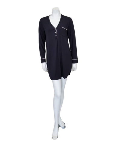 1113111 Henning Black Nightshirt