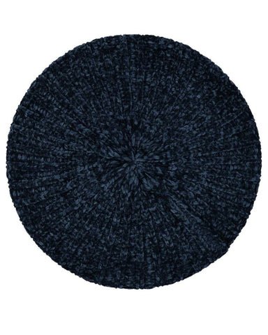 Revaz Denim Velvet Unlined Chenille