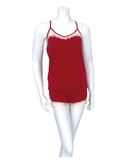 Flora Nikrooz Q80977 Apple Red Frida Cami and Shorts Set