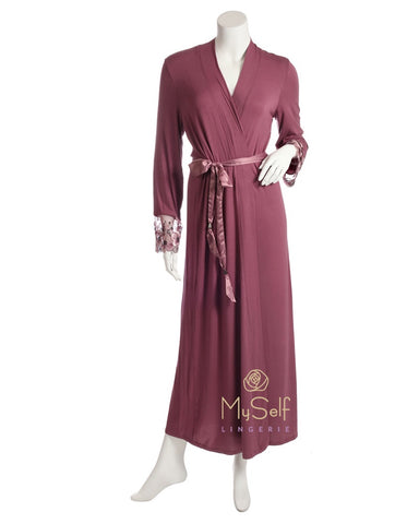 Me Moi CNS05244 CRX5426 Enchanted Romance Long Morning Robe myselflingerie.com