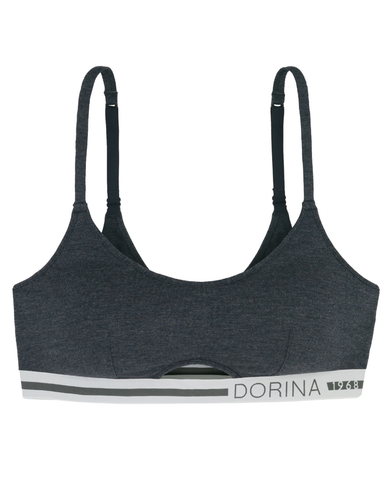 Dorina Ink Soft Modal Wire Free Pullover Sports Bra