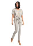 Vanilla Night and Day LW003 + LW004 Pajamas Long Pants myselflingerie.com
