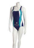 NBB 50749 Teal & White Navy Bathing Suit MYSELFLINGERIE.COM
