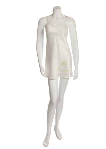 Rya Collection 195 Simple Ivory Chemise myselflingerie.com