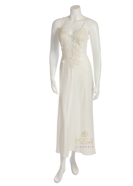 Flora Nikrooz 7533I Ivory Showstopper Gown myselflingerie.com