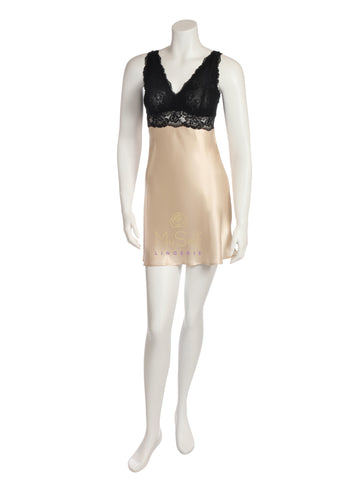 NK iMode 5974 Morgan Silk Chemise with Bust Support myselflingerie.com