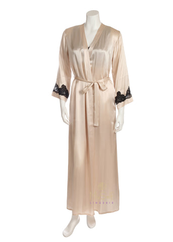 NK IMODE 4400 Morgan Silk Long Robe myselflingerie.com