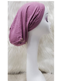 C. Bird CB37 Mirror Stones Dark Pink Cotton Beanie Snood myselflingerie.com