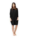 Vanilla Night and Day LW002 Modal Lounger Nightshirt with Pockets myselflingerie.com