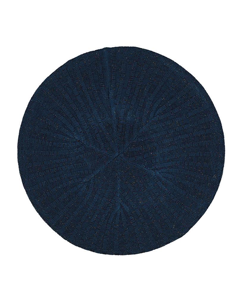 Lizi Headwear Ribbed Lurex Denim / Colorful Chenille myselflingerie.com