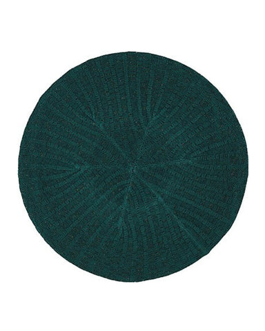 Lizi Headwear Ribbed Lurex Teal / Colorful Chenille myselflingerie.com