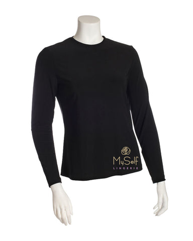 S5536-WILL Long Sleeve Poly Bias Cut Shell