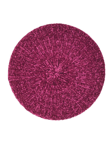 Revaz Raspberry Velvet Unlined Chenille Snood