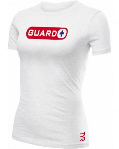 TYR TFGN3A Women's Guard White Cotton T-shirt myselflingerie.com