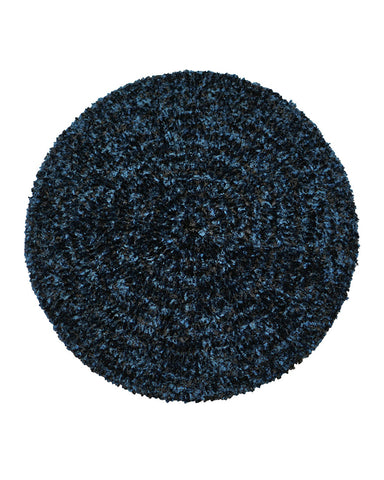 Lizi Headwear Two Tone Lined Black / Denim Chenille myselflingerie.com
