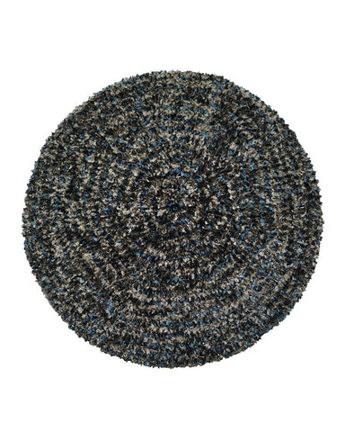 Lizi Headwear Two Tone Lined Denim / Grey Chenille myselflingerie.com