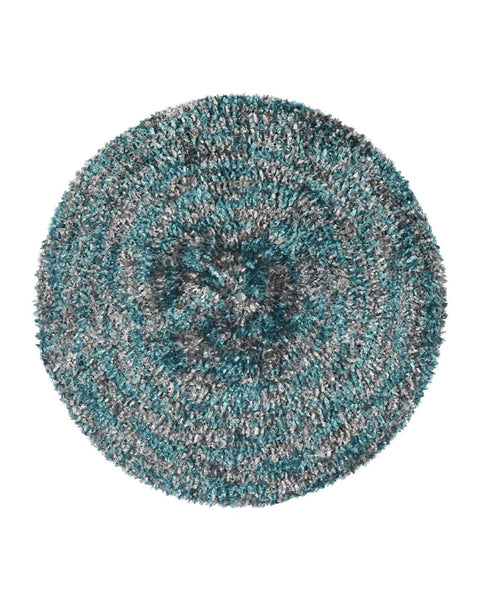 Lizi Headwear Two Tone Lined Teal / Grey Chenille MYSELFINGERIE.COM