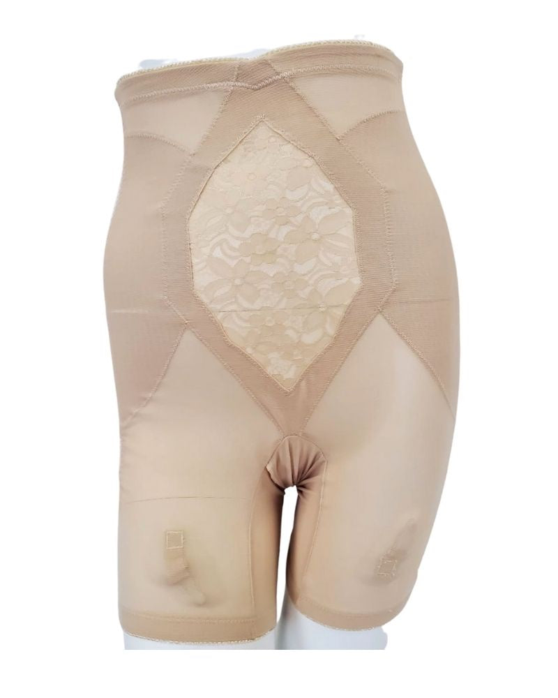 Custom Maid 1560 Split Hip High Waisted Panty Girdle with Legs myselflingerie.com