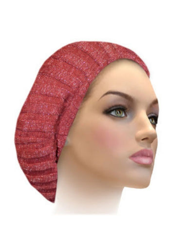 AH-H0002 Canyon Rose Combo Raised Ribbed Knit Chenille