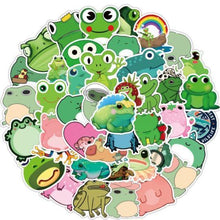 Load image into Gallery viewer, READY TO SHIP  * Frogs Waterproof Vinyl Matte Stickers