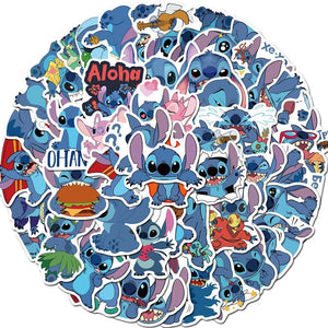 READY TO SHIP * Lilo Stitch Waterproof Vinyl Matte Stickers