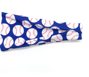READY TO SHIP * Baseball, Softball, Stars Soft Yoga Headbands