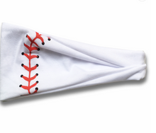 Load image into Gallery viewer, READY TO SHIP * Baseball, Softball, Stars Soft Yoga Headbands