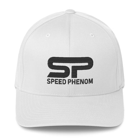 SPEED PHENOM FLEXFIT HAT- Black Insignia - Phenom Autos, Hat, Phenom Autos