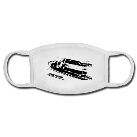 Z-RACE Face Mask - white/white