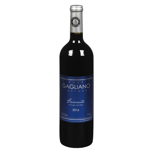 Vignoble Gagliano - Vin rouge Barricato - 750 ml