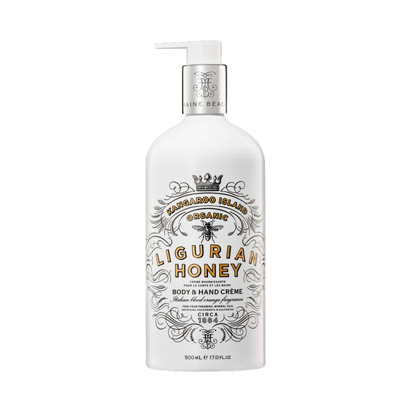 K.I. Ligurian Honey Body & Hand Crème 500ml