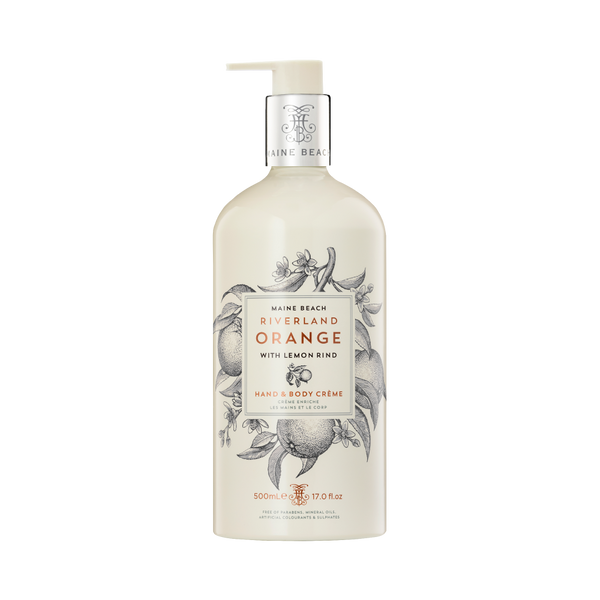 Riverland Orange Hand & Body Crème 500ml