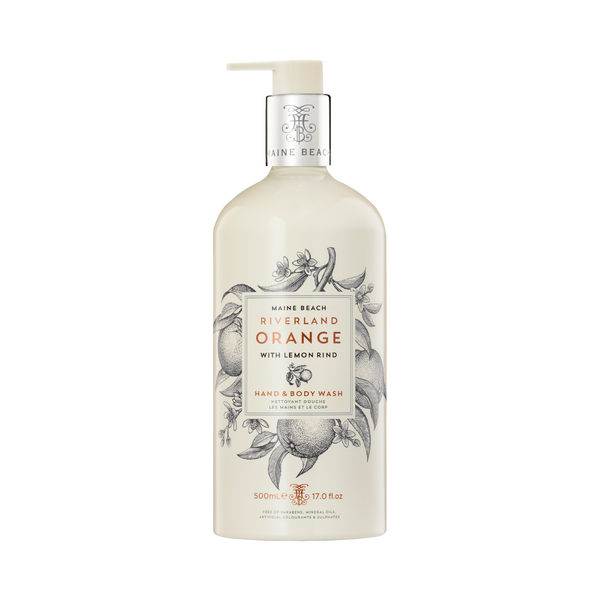 Riverland Orange Hand & Body Wash 500ml